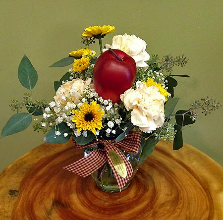 Teacher's Apple Bouquet