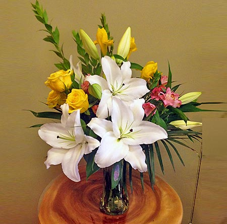 lilly bouquet for all occasions
